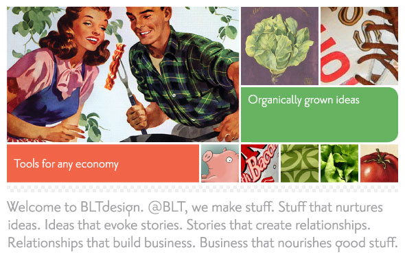 BLTdesign - a Richmond, VA, design firm specializing in print design and web design